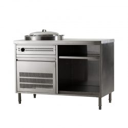 Gas Noodle Cabinet - Left
