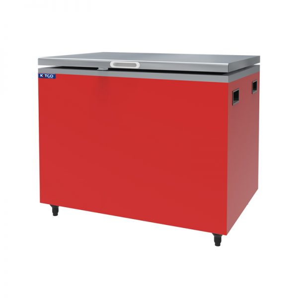 Ice Box Stainless Red 300L